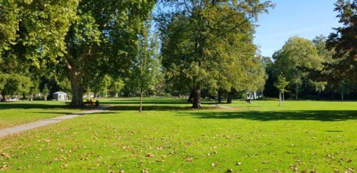 【ランニング】Mittlerer Schlossgarten