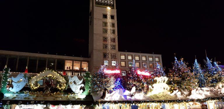 ドイツ・シュトゥットガルトのクリスマスマーケット