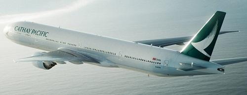 【キャセイパシフィック航空・ビジネスクラス】CX701香港 - バンコク