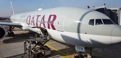 【カタール航空・ビジネスクラス(QSuite)】QR70 フランクフルト - ドーハ